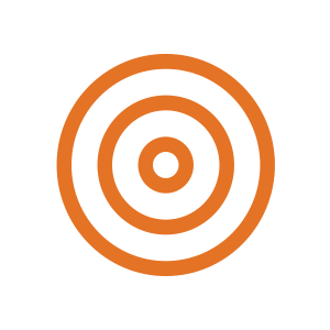 Target icon - strategy sector logo