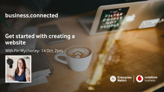 business.connected: Get started with creating a website