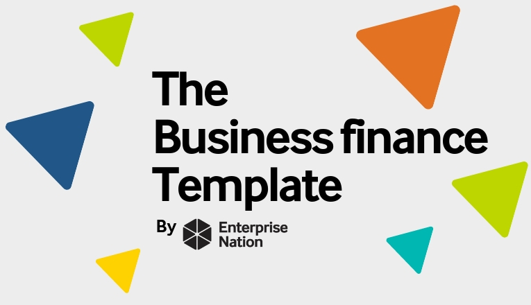 The business finance template logo