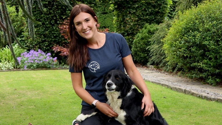 The entrepreneur offering dog assisted workplace wellbeing
