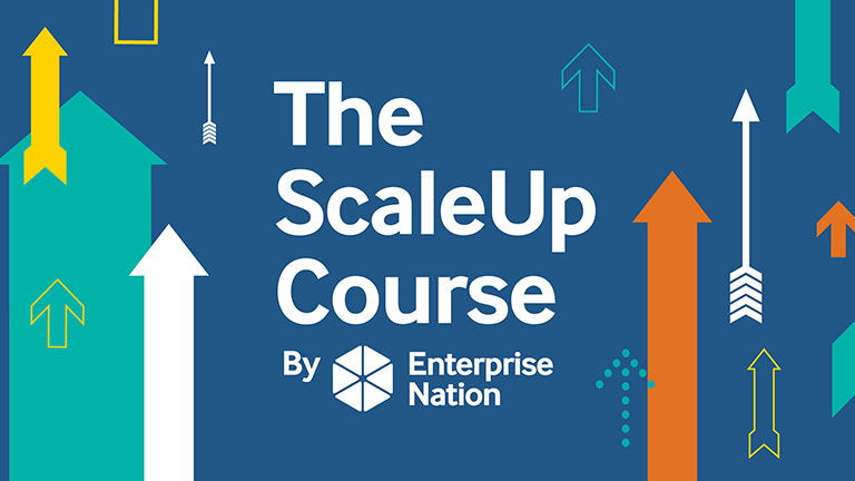 The scaleup course logo