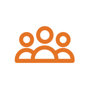 People icon - HR sector logo