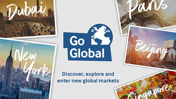 Go Global campaign logo