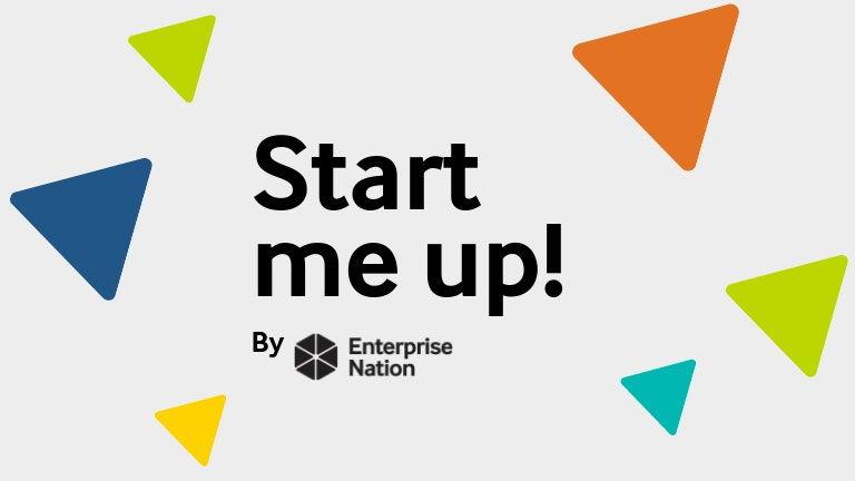 Start me up! Logo